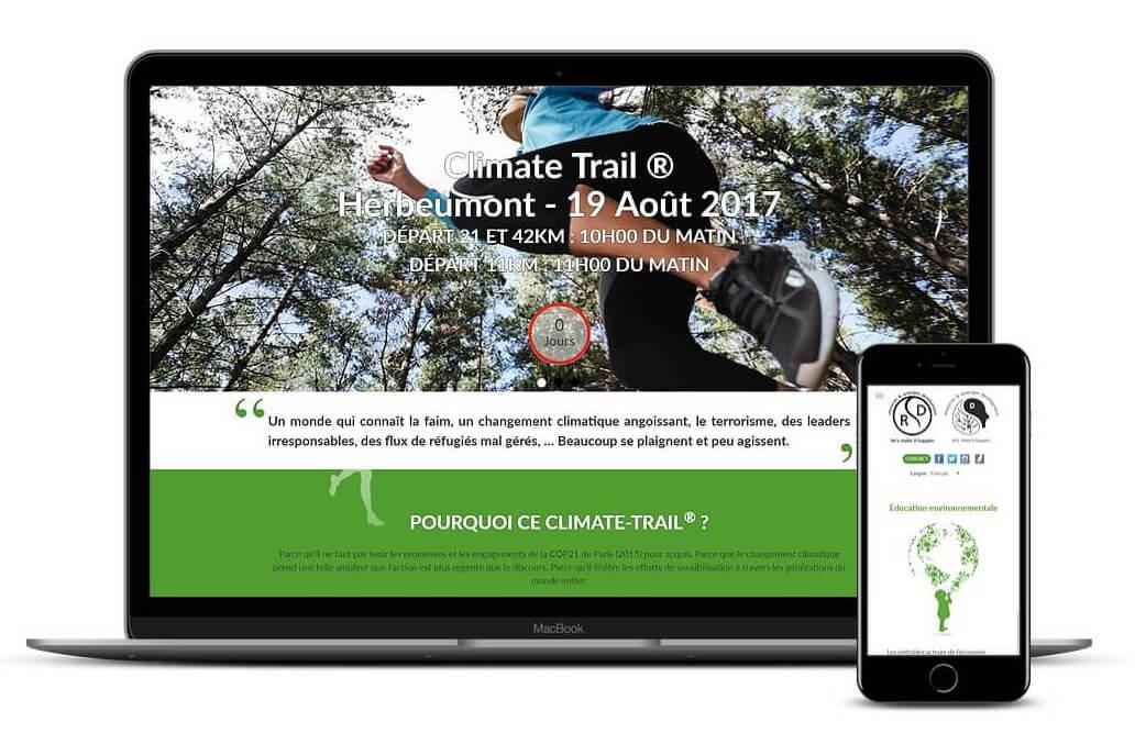 Climate Trail - Création Idée Ad