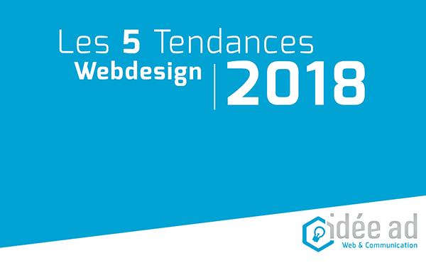 Webdesign : les tendances en 2018