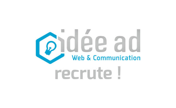 Idée Ad recrute un(e) Chef de Projet Communication et (Web)Marketing en CDI !