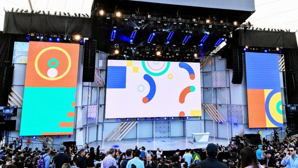 Conférence sur Google IO 2019
