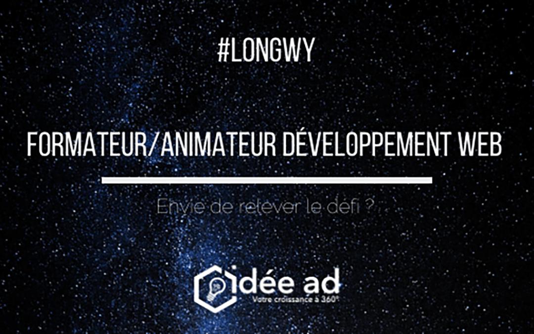 Idée Ad recrute un formateur animateur développement web à Longwy (H/F)